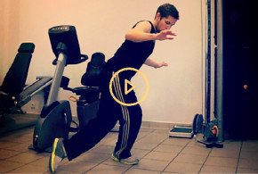 eviter entorse exercices video