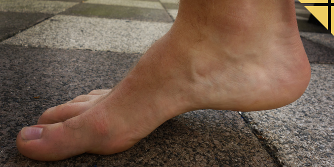 course pied nu ou minimalisme