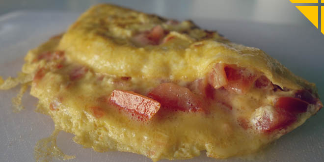 Recette Oeuf Fromage Tomate Petit Déjeuner Rapide