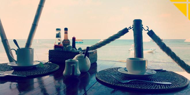 boissons chaudes petit dejeuner cafe the