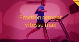 fractionné vitesse max running