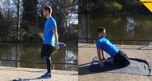 etirement stretching quadriceps