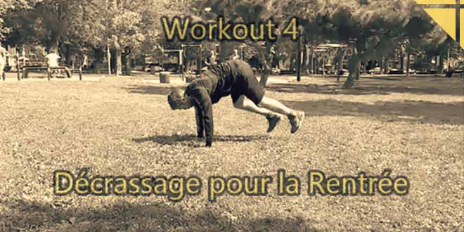 decrassage rentree workout 4