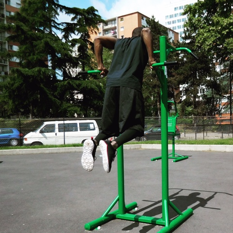 dips street workout