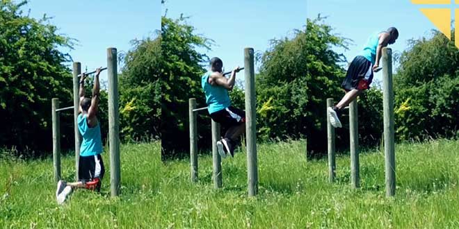 muscle up street workout