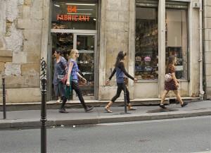 marcher en ville