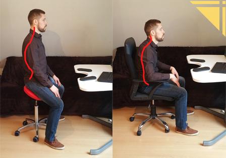 Une chaise en selle pour un dos bien droit le coin forme for Chaise confortable pour le dos